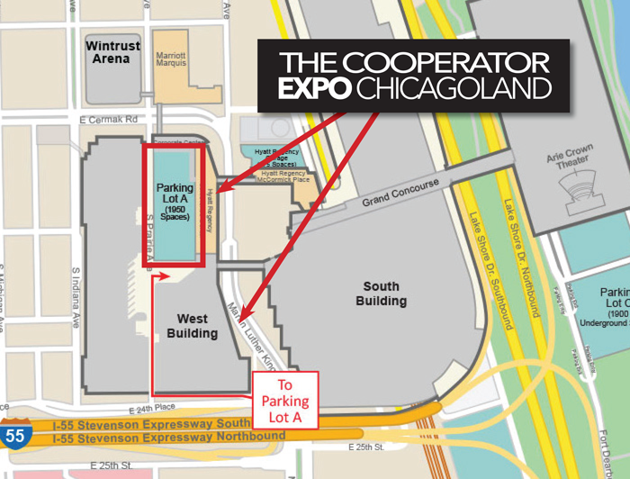 Navy Pier Convention Center Map
